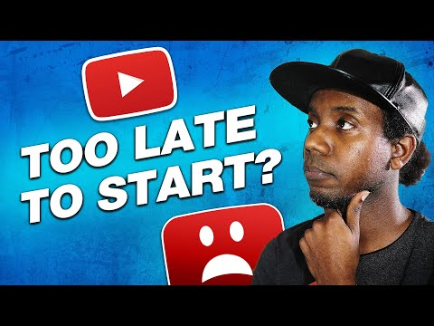 IS IT TOO LATE TO START ON YOUTUBE IN 2020? (Yes and No)