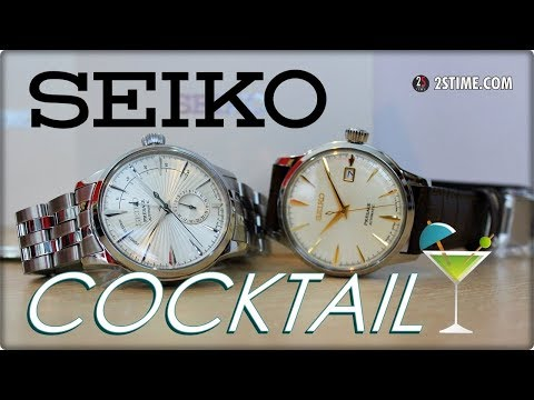 SEIKO Presage COCKTAIL TIME Dress Watch | SSA341J1 Vs SRPC99J1