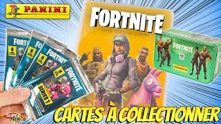 FORTNITE Trading Cards Panini Serie 1 Card Game 12 Booster Trading Cards