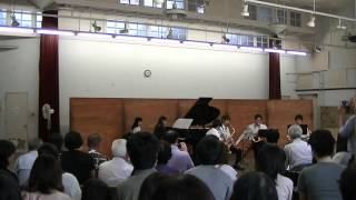 2015年 東京大学五月祭 東京大學サクソフォン同好会による演奏 twitter https://twitter.com/ut_saxmate Facebook https://www.facebook.com/utsaxmate/