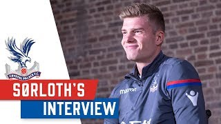 NEW NUMBER 9! Alexander Sørloth's first Interview at Crystal Palace FC