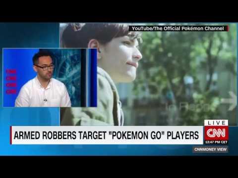 CNN International: Staying safe with Pokemon Go