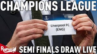 LIVERPOOL v ROMA! | Champions League Semi Finals Draw Reaction LIVE