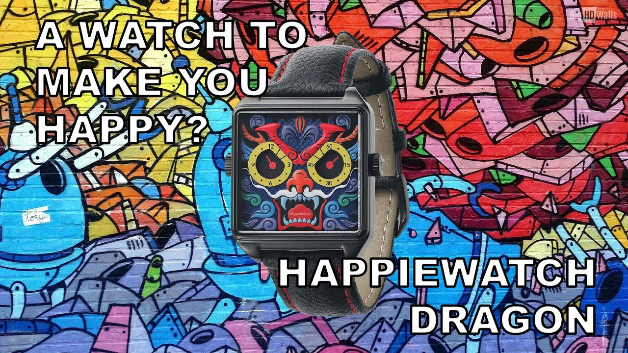 A Watch To Make You Happy? - Happiewatch Dragon Review + Unboxing