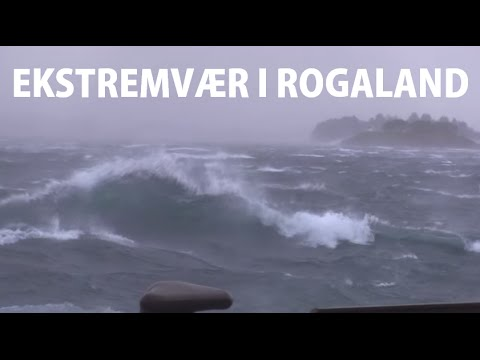 Ekstremvær i Rogaland - 05.12.2013