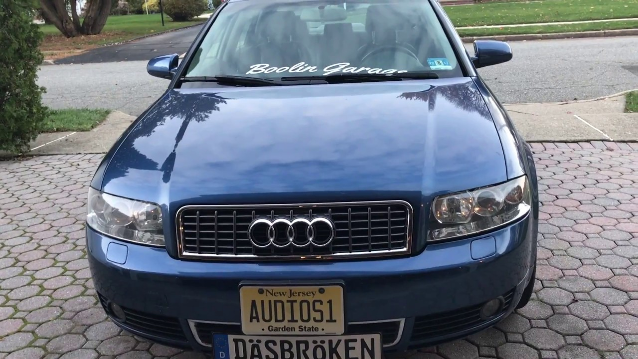 How To Replace Audi A4 B6 Grille Youtube
