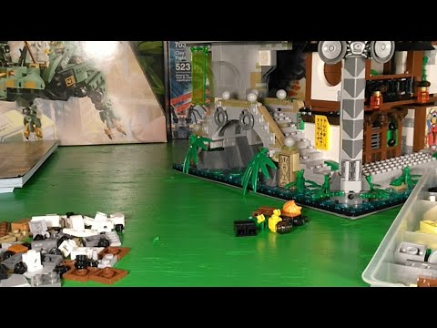 LEGO 🔴 Building Ninjago City! Lloyd's Apartment!