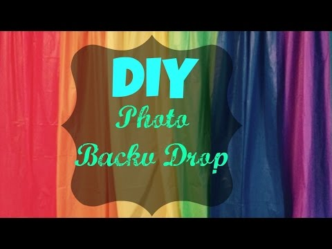 DIY Photo Back Drop {$6}