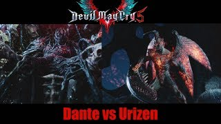 Dante Fights Urizen  - Devil May Cry 5 (Before Prologue)