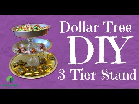 diy 3 tier wedding cake stand 5 dollar tree diy simple 3 tier stand 13603