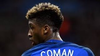 Kingsley Coman Skills And Speed  Bayern Prince