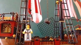 Lego Pirate Ship Time Lapse