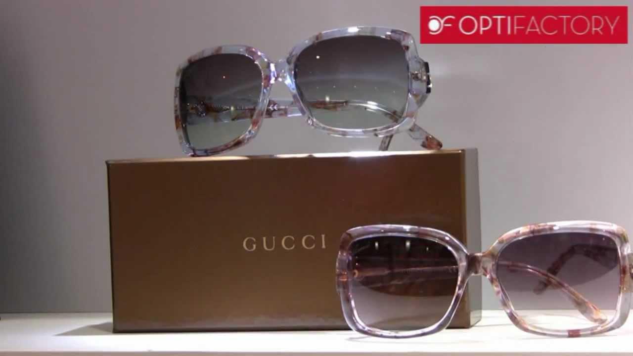 87661737ce Gafas de sol Gucci - YouTube