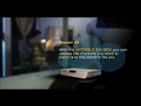 SkyCable Digibox Infomercial