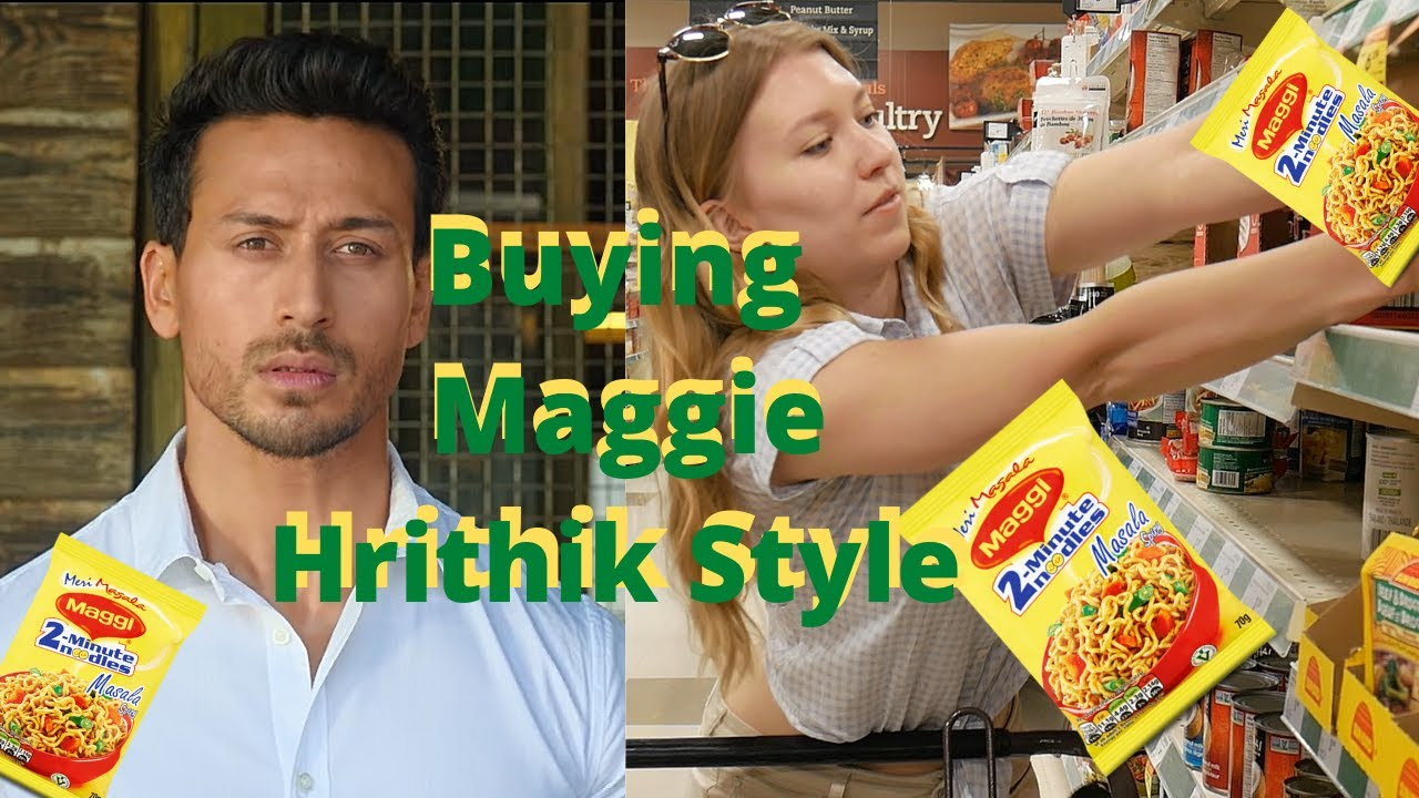 Buying Maggie Noodles Hrithik War Entry Style