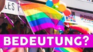 Pride-Monat: Wofür steht die Regenbogenfahne?