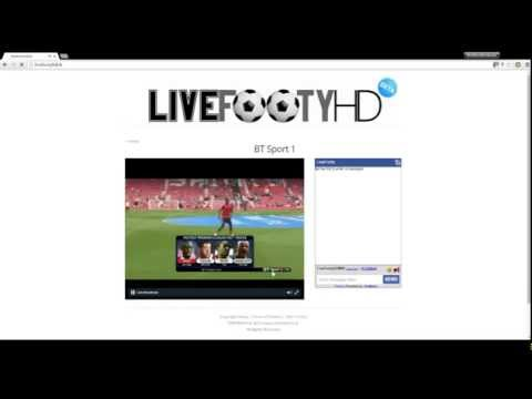 How To Watch Live Football/Sports Streams For Free. (www.LiveFootyHD.tk)