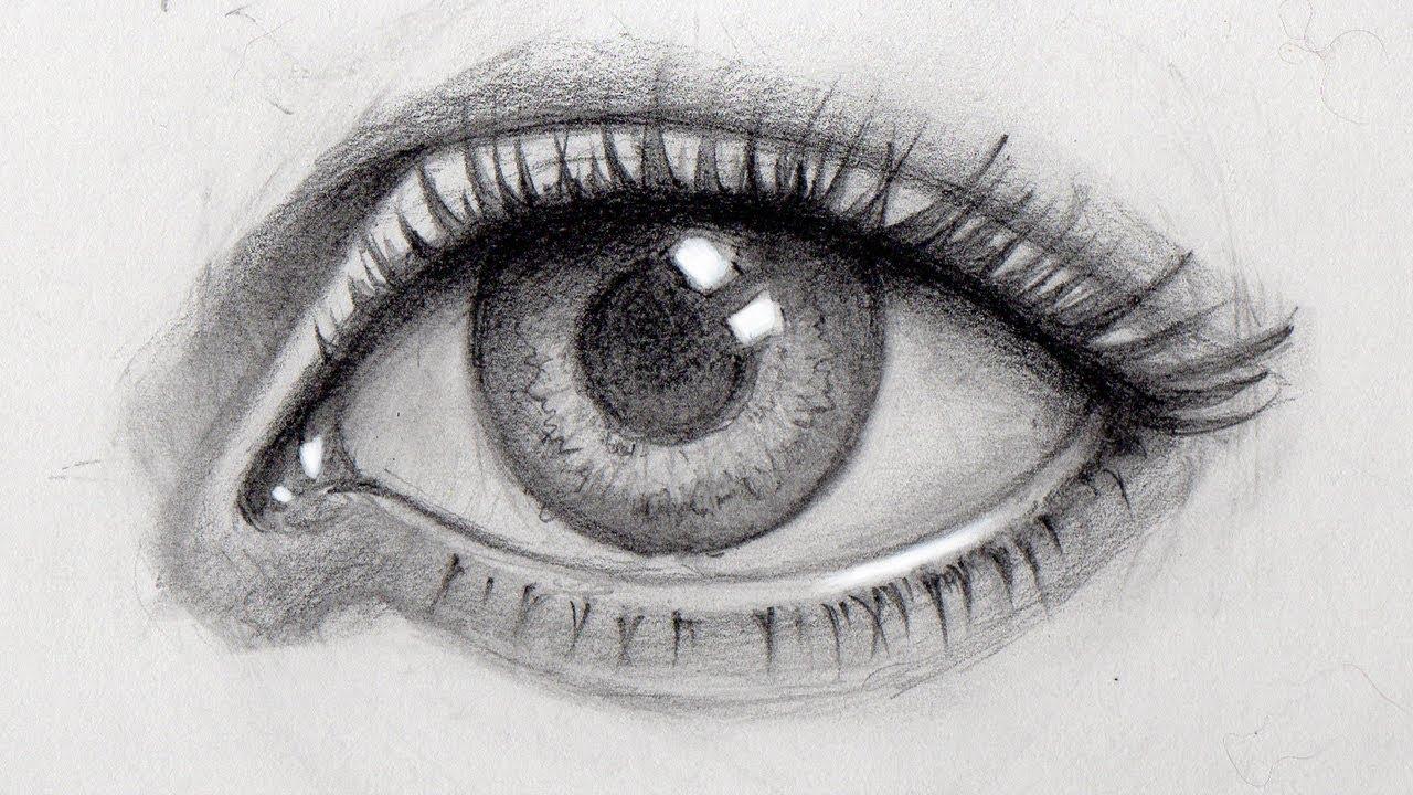 фото картинки карандашом как нарисовать глаза слон такой