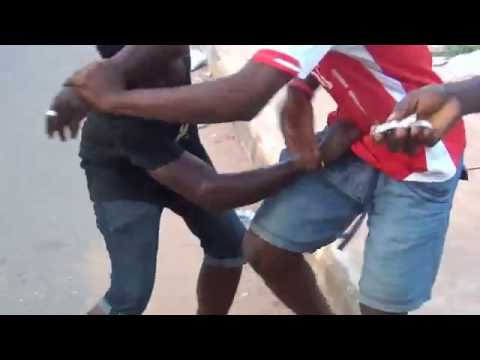 O.M.G!!! nigerian boys fought brutally injured and naked because of money!!! thumbnail