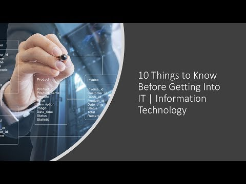 10 Things to Know Before Getting Into IT   Information Technology