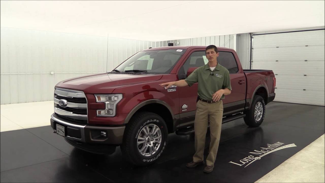 2016 ford f 150 king ranch standard and optional equipment youtube. Black Bedroom Furniture Sets. Home Design Ideas