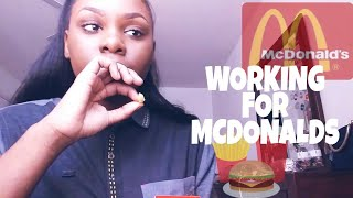 Working For McDonalds // FIRST DAY STORYTIME⚡