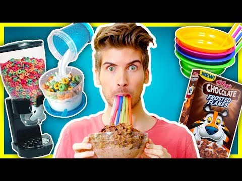 Download Youtube: 5 CEREAL GADGETS PUT TO THE TEST!