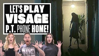 Let's Play Visage gameplay  P.T. PHONE HOME!