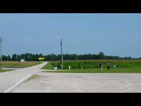 Aerial Spraying Activity at the Huron County Airport - 5A1, Norwalk, OH