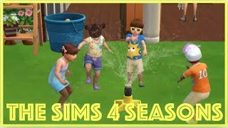 The Sims 4: Seasons // Toddler Play Date (Part 39)