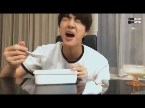Bts Jin Eating Sounds Youtube