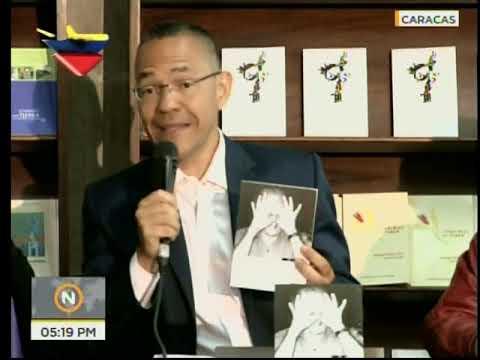 """Villegas presenta el libro """"Gustavo Pereira, fiel a la palabra"""" de E. Hernández D'Jesus"""