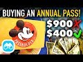 BUYING an ANNUAL PASS in Walt Disney World! - Disney Vlog #5