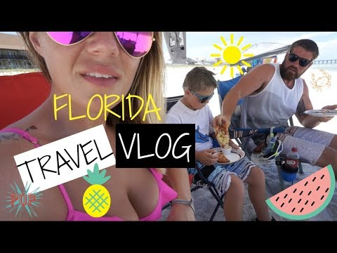 TRAVEL VLOG | PANAMA CITY BEACH | VACATION VLOG