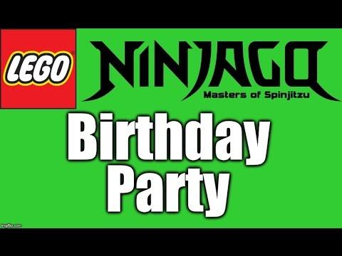 Ninjago Birthday Party Youtube
