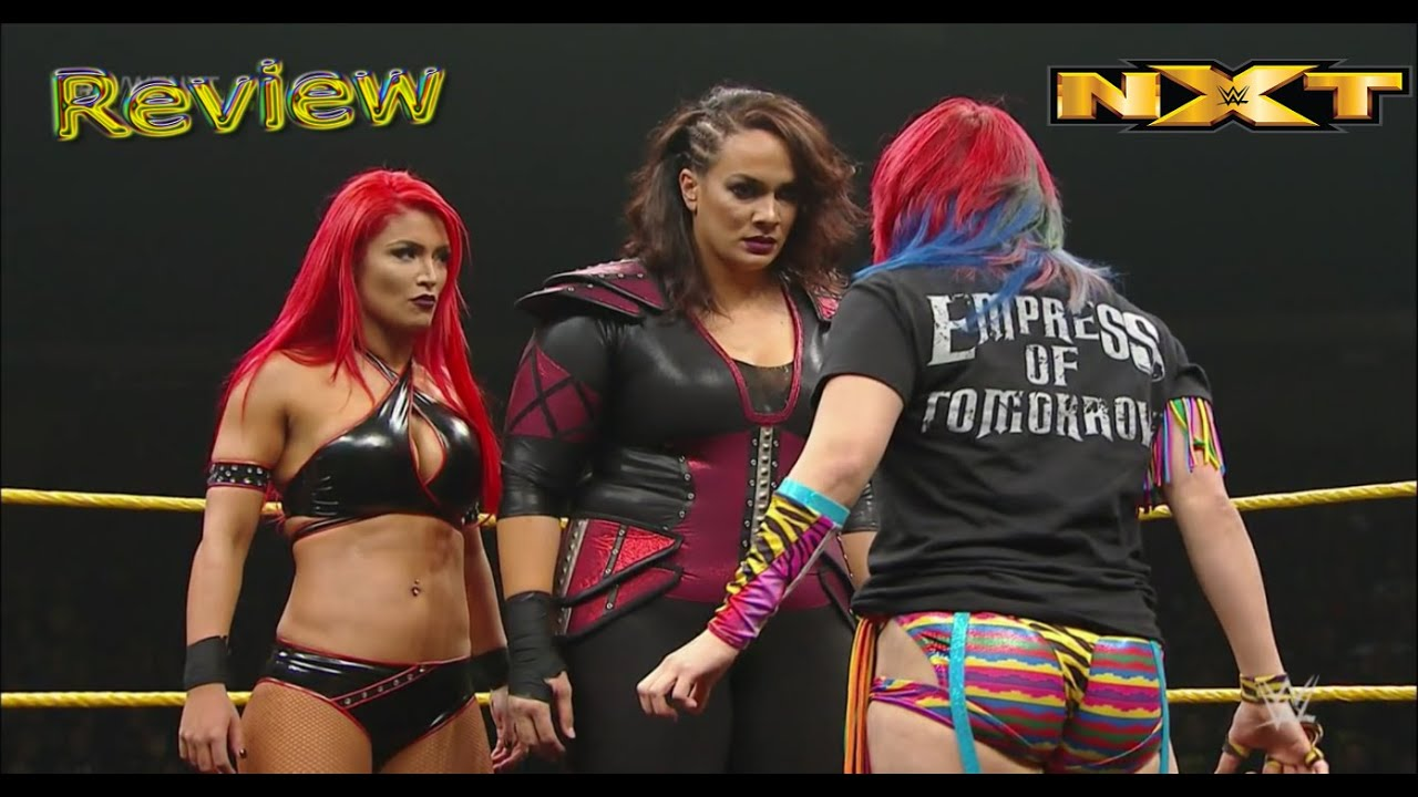 wwe nxt february 10 2016 asuka punks out nia jax eva marie