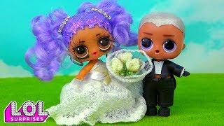 Мама В ШОКЕ! Невеста Мария и ее жених расстались на свадьбе! Мультик куклы лол сюрприз LOL dolls