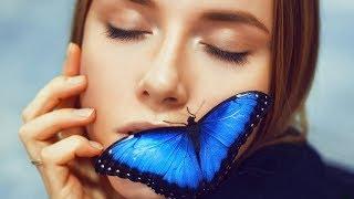 Фотосессия с живой бабочкой