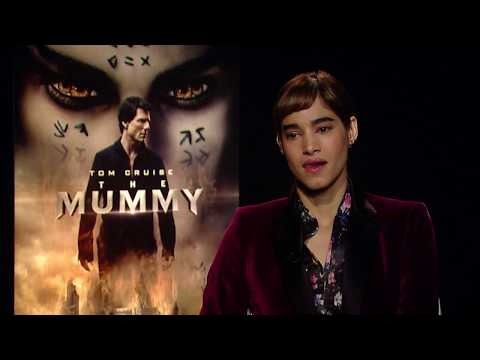 Sofia Boutella Talks 'The Mummy' and Licking Tom Cruise's Face