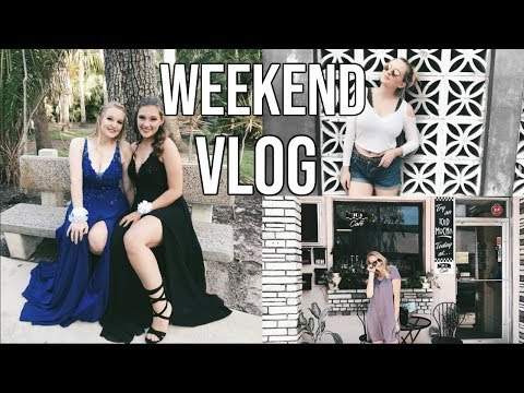 WEEKEND VLOG: PROM+ MELBOURNE AND MORE!!