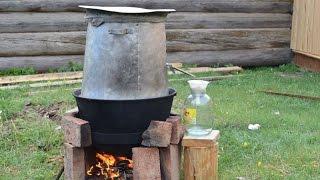 Бурятский национальный слабоалкогольный напиток Тарасун. Байкал. Бугульдейка