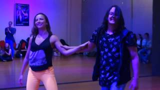 00419 - YUZE5: Anna and Mafie workshop ACD ~ video by Zouk Soul