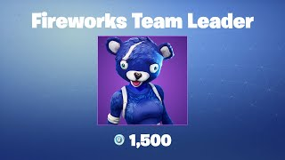 Fireworks Team Leader | Fortnite Outfit/Skin