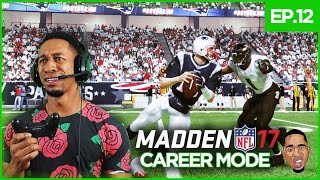madden 17 career mode gameplay tp3 rocked tom brady ep 12
