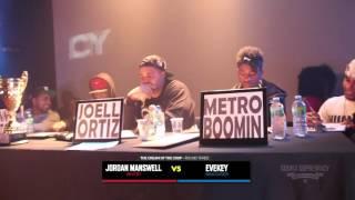 Battle of the Beat Makers 2014 - Part 6 (Metro Boomin, Sonny Digital & Joell Ortiz)