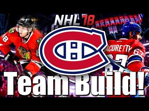 NHL 18 HUT / Luckyshots HC Ep.37: ALL TIME CANADIENS DE MONTRÉAL TEAM BUILD!