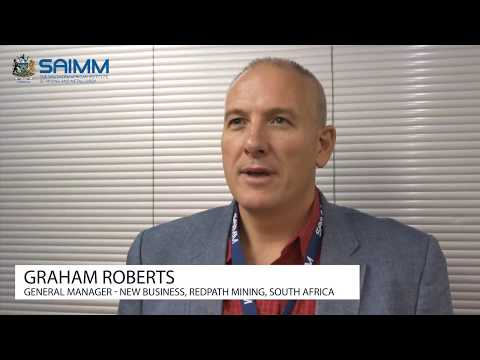 SAIMM Young Professionals Conference 2017 - Graham Roberts L Redpath Mining