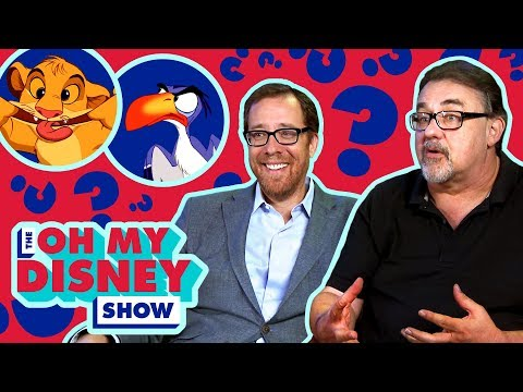 Don Hahn and Rob Minkoff Find Out Which Lion King Character They Are  Oh My Disney