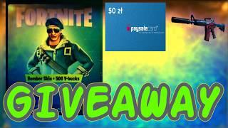 GIVEAWAY | Fortnite CS:GO | PSC SKIN KOD NA V-DOLCE