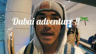 Dubai Adventure Vlog! - Justin Kalani Burbage